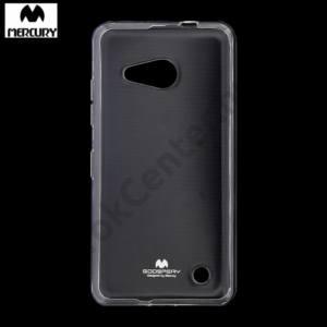 Microsoft Lumia 550 MERCURY Goospery telefonvédő gumi / szilikon ÁTLÁTSZÓ