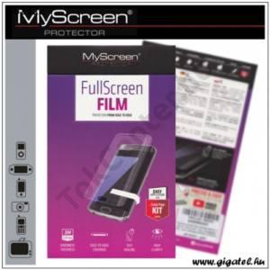 LG X Cam Képernyővédő fólia törlőkendővel (1 db-os, full screen, íves részre, öntapadós PET, nem visszaszedhető) CRYSTAL áttetsző