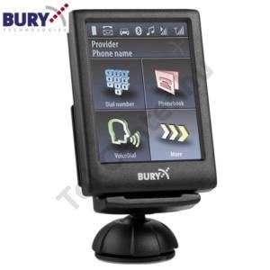 BLUETOOTH kihangosító szett, beépíthető (multipoint, microUSB-s töltőcsatlakozó a készülékhez, érintős LCD kijelző)