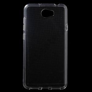 Huawei Y5 II (Y5-2) / Huawei Y6 II Compact Telefonvédő gumi / szilikon (ultravékony) ÁTLÁTSZÓ