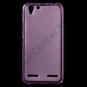 Lenovo Vibe K5 / Vibe K5 Plus Telefonvédő gumi / szilikon (fényes keret) RÓZSASZÍN