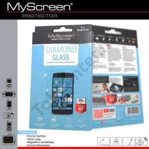 Samsung Galaxy A7 (2016) (SM-A710F) Képernyővédő fólia törlőkendővel (1 db-os, edzett üveg, extra karcálló, ütésálló, 9H, 0.33mm vékony) DIAMOND GLASS