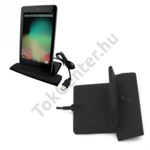 Asus Google Nexus 7 Asztali töltő és adatátviteli állvány FEKETE
