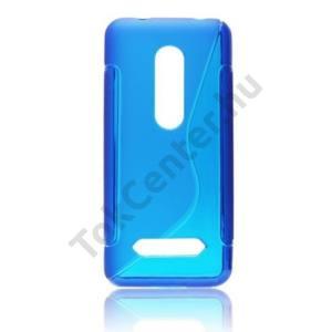Nokia 206 Telefonvédő gumi / szilikon (S-line) KÉK