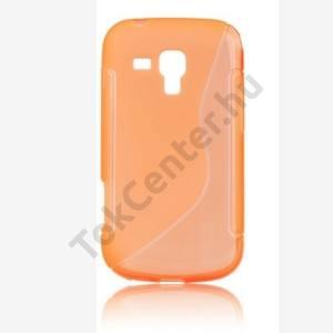 Telefonvédő gumi / szilikon (S-line) NARANCS