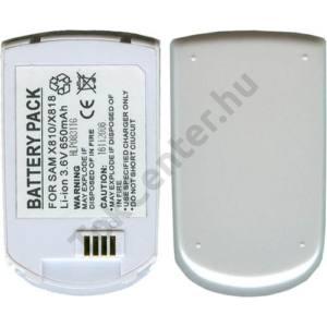 Samsung SGH-X810 Akku 650 mAh LI-ION fehér