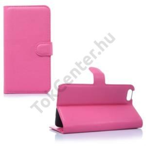 Huawei Honor 4X Tok álló, bőr (FLIP, oldalra nyíló, asztali tartó funkció) RÓZSASZÍN