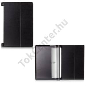 Lenovo Yoga Tablet 2 10.1`` Műanyag telefonvédő (FLIP, oldalra nyíló) FEKETE