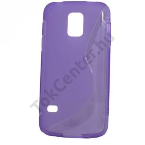 Samsung Galaxy S V. mini (SM-G800) Telefonvédő gumi / szilikon (S-line) LILA