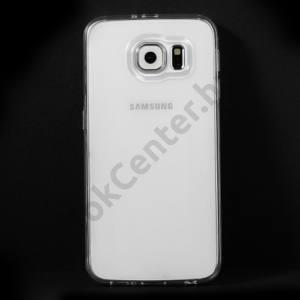 Samsung Galaxy S6 (SM-G920) Telefonvédő gumi / szilikon FÉNYES ÁTLÁTSZÓ