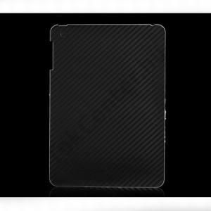 Apple IPAD mini Telefondísz matrica (hátsó, karbon minta) FEKETE