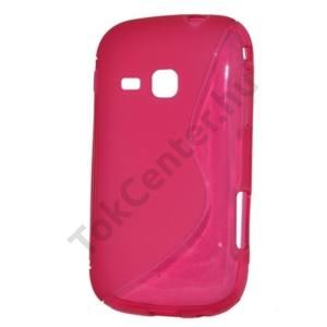 Samsung Galaxy Mini 2 (GT-S6500) Telefonvédő gumi / szilikon (S-line) RÓZSASZÍN