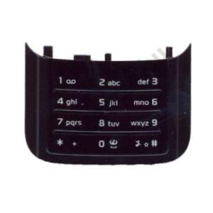 Nokia N85 Készülék billentyűzet alsó (numerikus) FEKETE