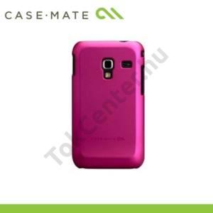 Samsung Galaxy Ace Plus (GT-S7500) CASE-MATE műanyag telefonvédő BARELY THERE - RÓZSASZÍN