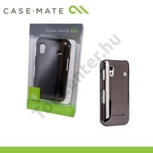 Samsung Galaxy Ace (GT-S5830) CASE-MATE műanyag telefonvédő BARELY THERE - EZÜST