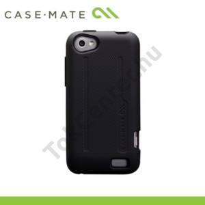 HTC One V (T320e) CASE-MATE műanyag telefonvédő TOUGH PROTECTION - FEKETE