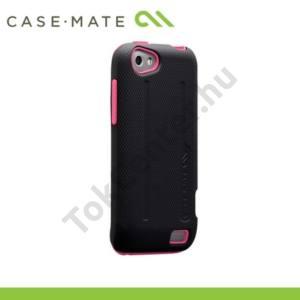 HTC One V (T320e) CASE-MATE műanyag telefonvédő TOUGH PROTECTION - RÓZSASZÍN