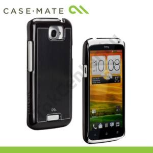HTC One X (S720e) CASE-MATE műanyag telefonvédő BARELY THERE - CSISZOLT FEKETE