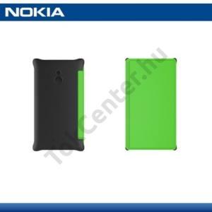 Nokia XL Műanyag telefonvédő (bőr flip, oldalra nyíló, bankkártya tartó) ZÖLD