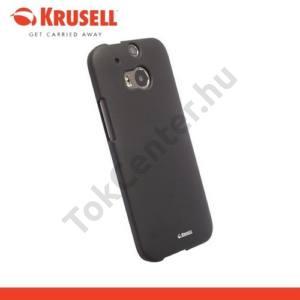 HTC One 2014 (M8) KRUSELL ColorCover műanyag telefonvédő FEKETE