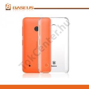 Nokia Lumia 530 BASEUS SKY műanyag telefonvédő ÁTLÁTSZÓ