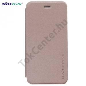 Apple iPhone 6 4.7`` NILLKIN SPARKLE műanyag telefonvédő (mikroszálas bőr flip, oldalra nyíló) ARANY