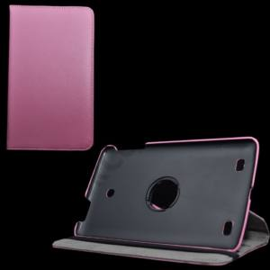 LG G Pad 8.0 (V480) Tok álló, bőr (FLIP, asztali tartó funkció, 360°-ban forgatható) RÓZSASZÍN