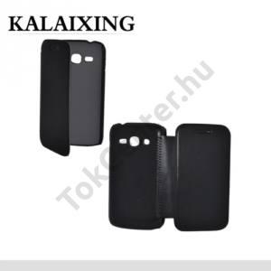 Samsung Galaxy Ace 3 LTE (GT-S7275) KALAIXING tok álló, ENLAND (oldalra nyíló) FEKETE