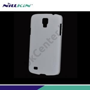 Samsung Galaxy S IV. Active (GT-I9295) NILLKIN SUPER FROSTED műanyag telefonvédő (gumírozott, érdes felület) FEHÉR