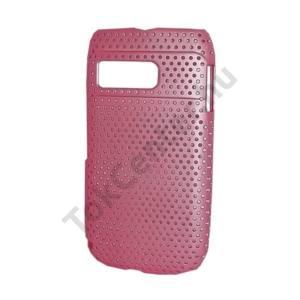 Nokia E6-00 Műanyag telefonvédő lyukacsos RÓZSASZÍN