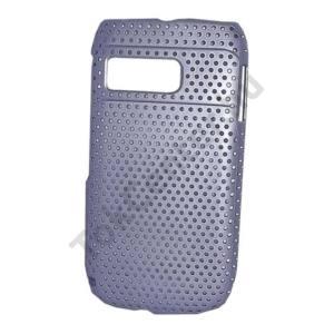 Nokia E6-00 Műanyag telefonvédő lyukacsos LILA