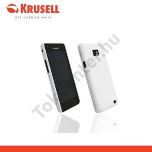 Samsung Galaxy S II. (GT-I9100) KRUSELL ColorCover műanyag telefonvédő FEHÉR