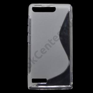 Huawei Ascend G6 3G Telefonvédő gumi / szilikon (S-line) ÁTLÁTSZÓ