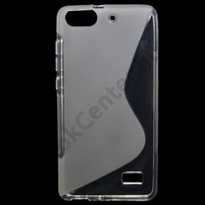 Huawei Honor 4C Telefonvédő gumi / szilikon (S-line) ÁTLÁTSZÓ