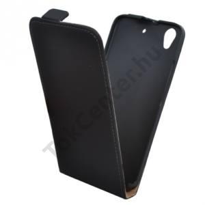 Huawei Ascend G620s Tok álló, bőr (FLIP, mágneses) FEKETE