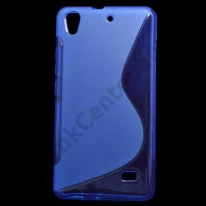 Huawei Ascend G620s Telefonvédő gumi / szilikon (S-line) KÉK