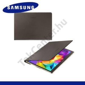 Samsung Galaxy Tab S 10.5 LTE (SM-T805) Telefonvédő, bőr Simple Cover (előlap védelem) BRONZ