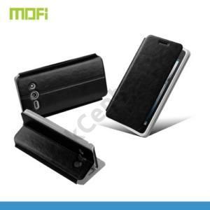 Huawei Ascend Y530 (C8813) MOFI RUI tok álló, bőr (FLIP, oldalra nyíló, asztali tartó funkció) FEKETE
