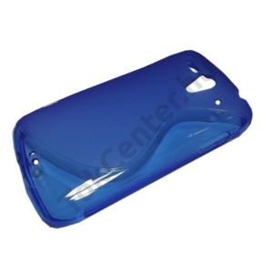 Huawei Ascend G300 (U8815) Telefonvédő gumi / szilikon (S-line) KÉK