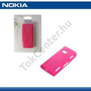 Nokia X6 Telefonvédő gumi / szilikon PINK