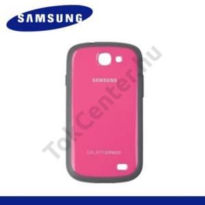 Samsung Galaxy Express (GT-I8730) Műanyag telefonvédő (gumi / szilikon betét) RÓZSASZÍN
