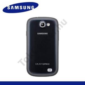 Samsung Galaxy Express (GT-I8730) Műanyag telefonvédő (gumi / szilikon betét) SÖTÉTKÉK