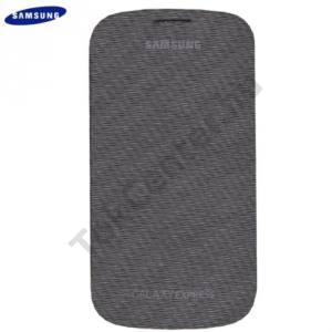 Samsung Galaxy Express (GT-I8730) Műanyag telefonvédő (FLIP, oldalra nyíló) FEKETE