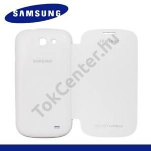 Samsung Galaxy Express (GT-I8730) Műanyag telefonvédő (oldalra nyíló) FLIP, FEHÉR