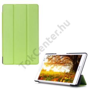 Asus ZenPad 8.0 (Z380KL) Tok álló, bőr (FLIP, oldalra nyíló, TRIFOLD asztali tartó funkció) ZÖLD