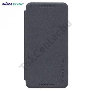 LG Nexus 5X (H791) NILLKIN SPARKLE műanyag telefonvédő (mikroszálas bőr flip, oldalra nyíló) FEKETE