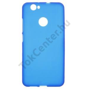 Huawei nova Telefonvédő gumi / szilikon (fényes keret) KÉK