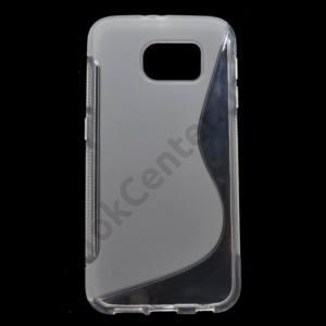 Samsung Galaxy S6 (SM-G920) Telefonvédő gumi / szilikon (S-line) ÁTLÁTSZÓ