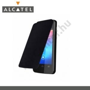 Alcatel Fire (OT-4012) Műanyag telefonvédő (akkufedél, felfelé nyíló) FLIP, FEKETE