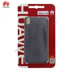 Huawei Y6 Műanyag telefonvédő (ultravékony, 0.8 mm) SZÜRKE